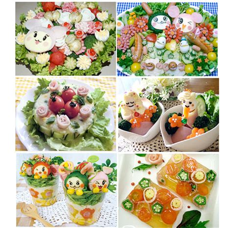 Ideas For Salad Decoration Competition bored with ham get ideas from a decorative ham salad contest in japan just bento