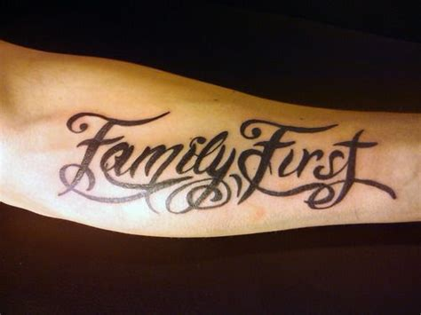 family first tattoos family www pixshark images galleries