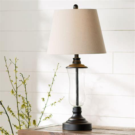 laurel foundry modern farmhouse bescott  table lamp