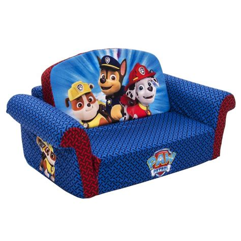 paw patrol fold out sofa amazon com marshmallow children s furniture paw patrol