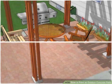 patio paint concrete outdoor patio paint concrete ideas how to paint a concrete