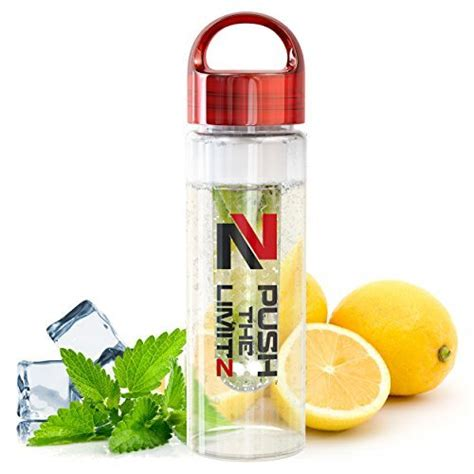 Fruit Infused Detox Water Bottle by Fruit Infused Water Bottle Detox Edition Large 24 Oz