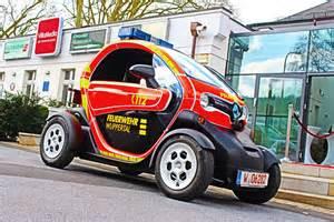 Renault News Renault Twizy Als Feuerwehrauto In Wuppertal Im Einsatz