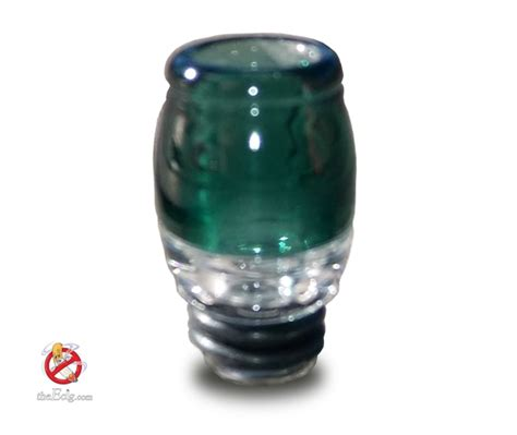 Handmade Drip Tips - handmade 510 teal colored pyrex glass drip tip