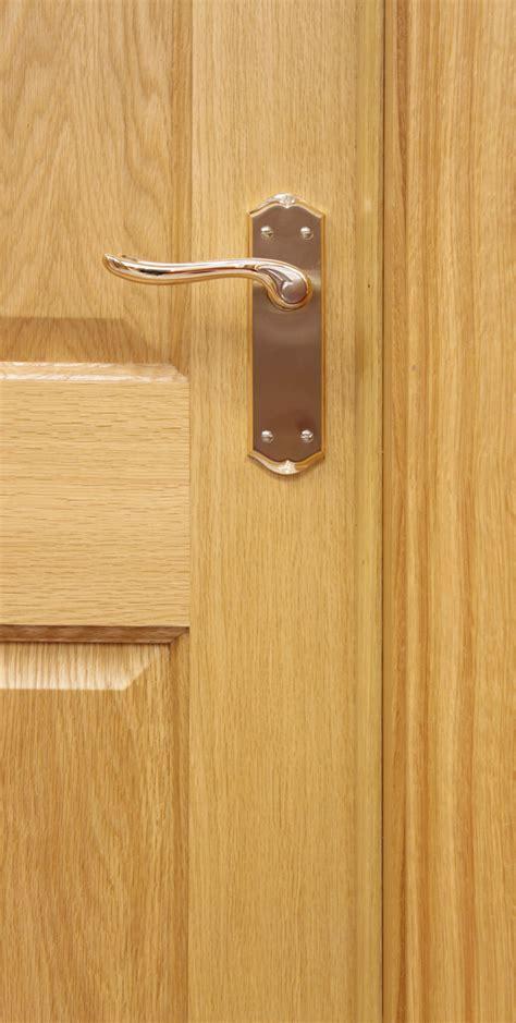 4 Panel White Oak Door (40mm)   Internal Doors   Oak Doors