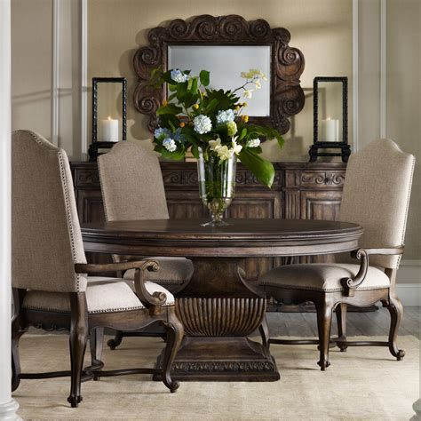 pedestal dining table and chairs 60 quot pedestal table and upholstered chair dining