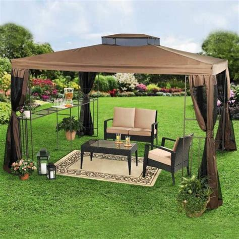10 Relaxing And Comfortable Outdoor Canopy Designs Rilane Backyard Canopy Ideas