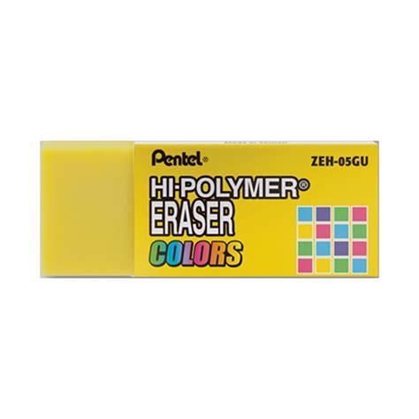 Sale Pentel Polymer Eraser Small buy pentel hi polymer small eraser yellow