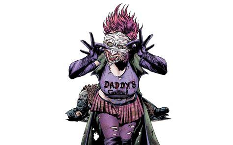 joker batman dc comics simple background duela dent