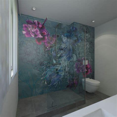 tapete im bad badgestaltung mit tapeten ist tapete im bad machbar