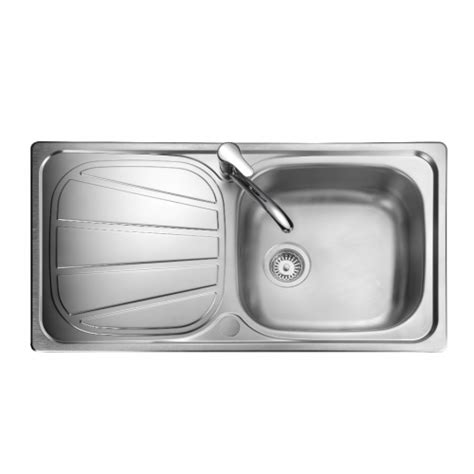 baltimore single bowl kitchen sink