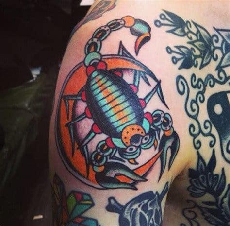 new school scorpion tattoo 18 stinging scorpion tattoos tattoodo