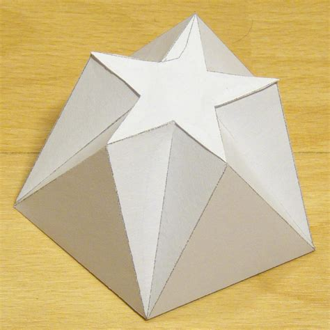 Shapes With Paper - paper pentagonal pentagrammic shape