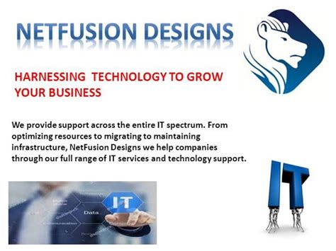 team fusion business card template netfusion designs authorstream