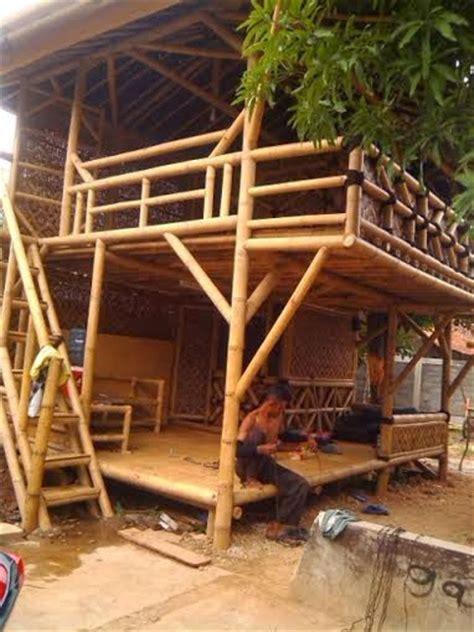 jasa saung gazebo bambu kayu kelapa jakarta