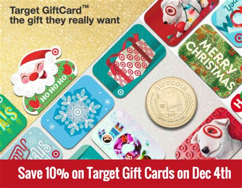 Does Target Buy Gift Cards - 10 off target gift cards dec 4th 2016 all things target