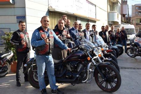 salihli tuerk chopper motosiklet kuluebuenden ziyaret turu