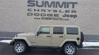 New Jeep Colors Sold 7j185 2017 Jeep Wrangler Unlimited Gobi