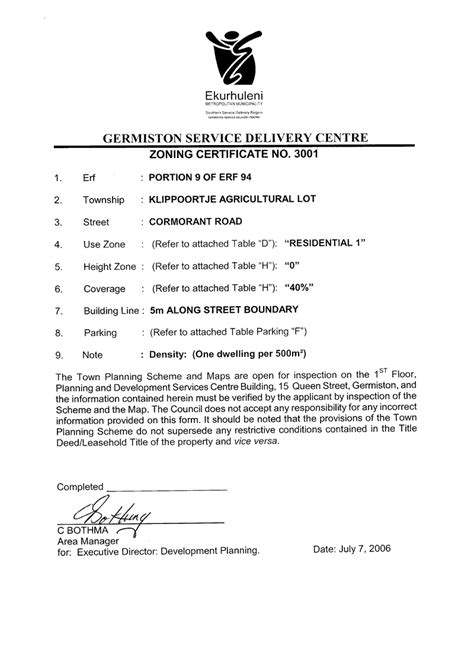 Request Letter For Zoning Certificate New Ventures Properties Pictures Of Property A Division Of The Livanos Sa