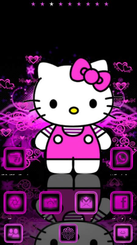 themes for android hello kitty hello kitty free android theme download download the