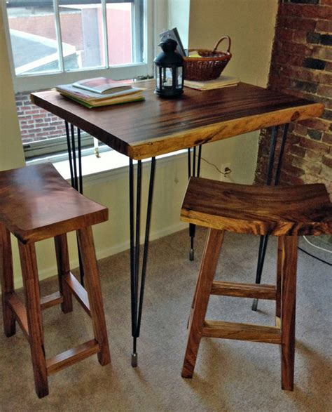 high bar table bar stools custom by impact imports