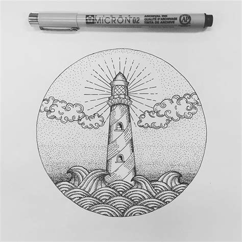 sketch book a3 17 best ideas about lighthouse drawing on