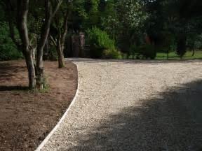 driveway edging ideas concrete driveway edging gravel