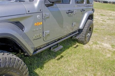 just jeeps buy n fab rkr step system for 2018+ jeep