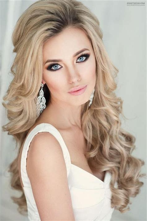 top 20 down wedding hairstyles for long hair deer pearl flowers 15 best collection of long hairstyles down