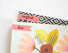 diy notebook decoration diy decorated notebooks with labels pbteen stylehouse