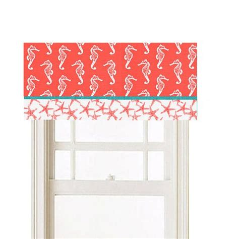 beach themed curtains and valances window valance you pick 2 nautical beach theme by