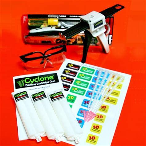 3d supplies cyclone gun doming test kit 3d decal maker