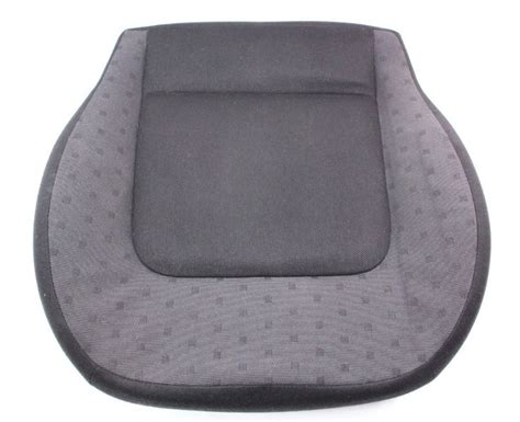 front seat cushion cloth cover   vw beetle driver passenger genuine oe