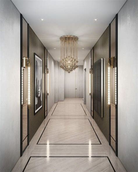 luxurious hallway    awesome corridor