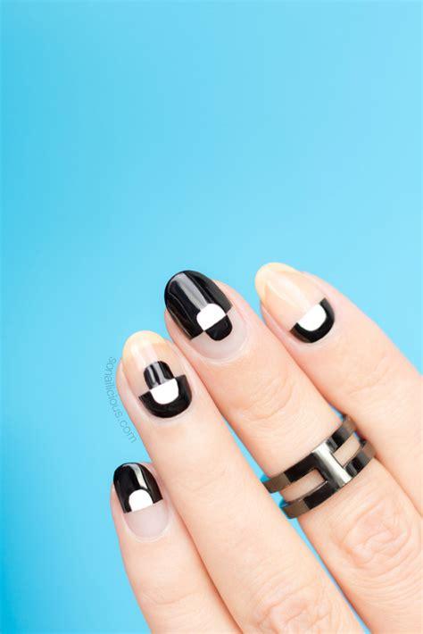 nail art negative space tutorial trendy negative space nails tutorial