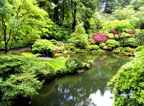 Garden Oregon by Large Waterfall Picture Of Portland Japanese Garden