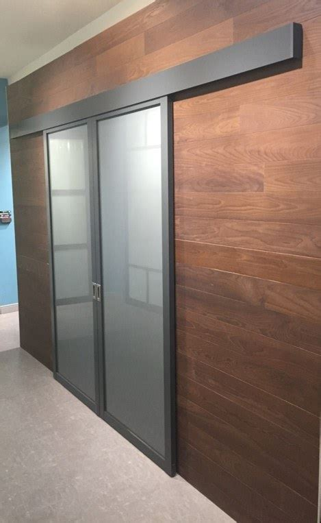 smoked frosted glass barn door inspirational gallery