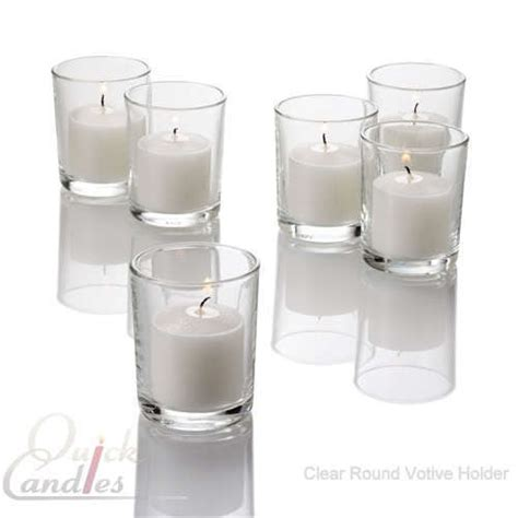 eastland votive candle holders glass 18 styles and colors set of 72 ebay