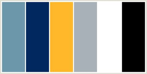 blue yellow color scheme black white light grey navy blue medium blue and