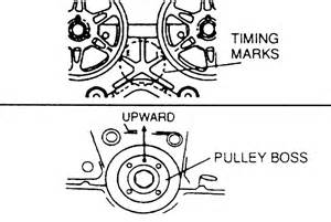 timing belt sprockets tensioner and front cover