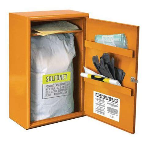 armadio kit armadio solfonet kit d emergenza per sversamento acido