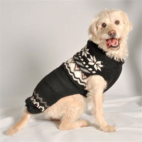puppy sweaters black aspen wool sweater designer clothes at glamourmutt