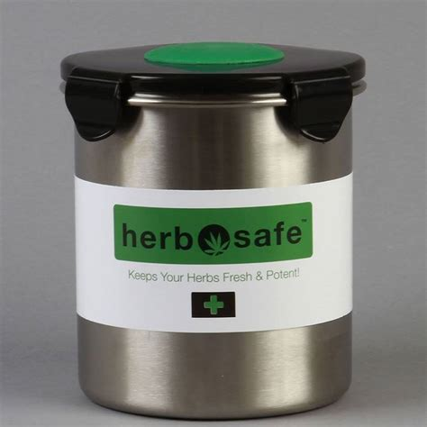 pot storage containers the herbsafe marijuana curing container could