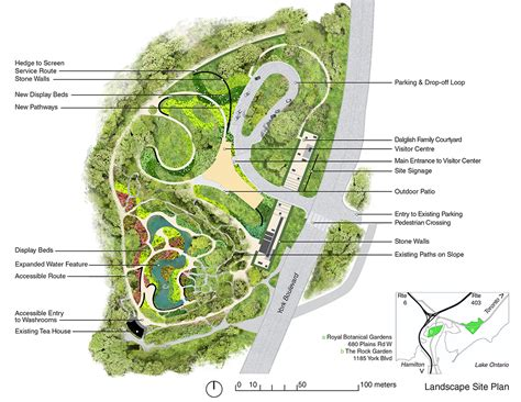 rock garden design plans the david braley and nancy gordon rock garden at the royal