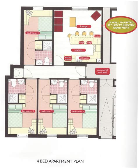 student accommodation floor plans student accommodation floor plans
