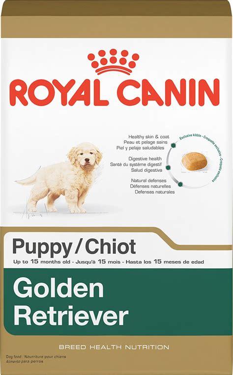 royal canin golden retriever food royal canin golden retriever puppy food 30 lb bag chewy