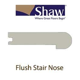 shaw flush stair nose coffee bean stairnose molding by shaw sw831 00938 hardwood flush stair nose