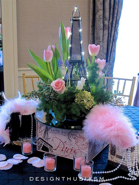 april in centerpieces for a
