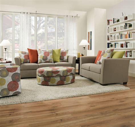 gray chair and ottoman playground light french gray sofa and love 4201 living