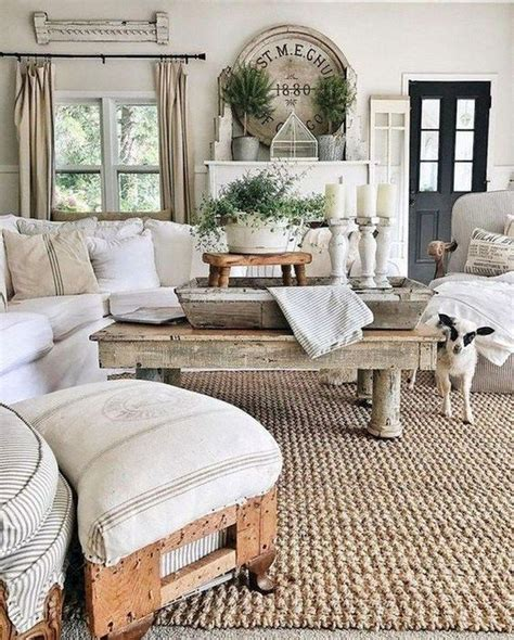 farmhouse living room joanna gaines magnolia homes